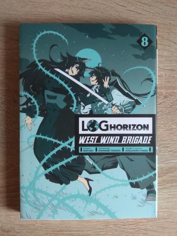 Log Horizon West Wind Brigade tom 8
