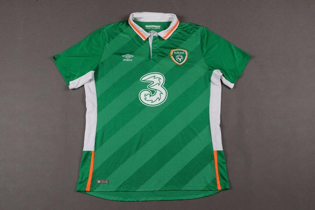 Irlandia 2016/18 Koszulka Piłkarska, Rozmiar: XL