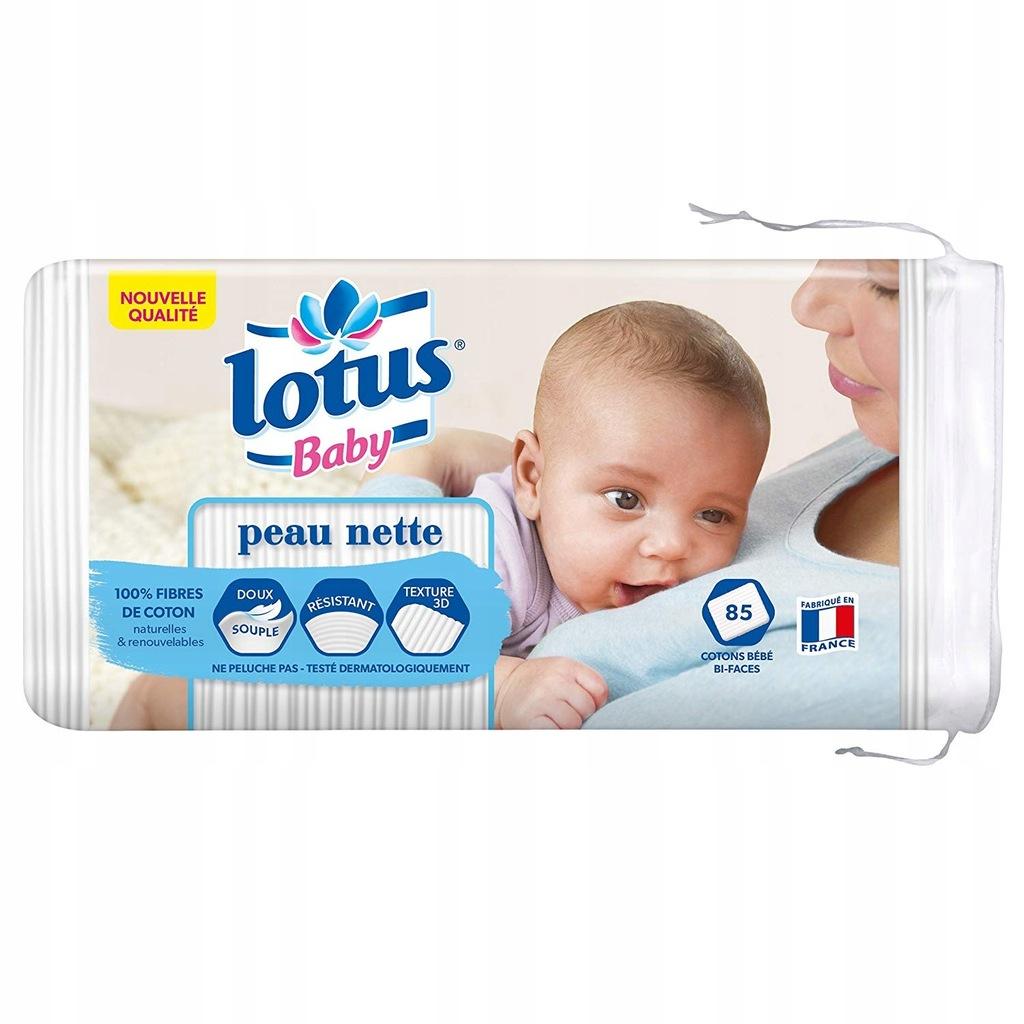 G7945 Bawełna dla niemowląt LOTUS 85 PASKÓW