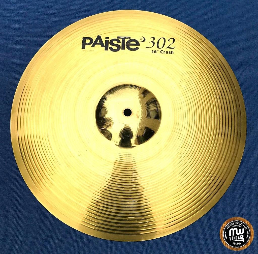 "Paiste - 302 Brass Crash 16"""