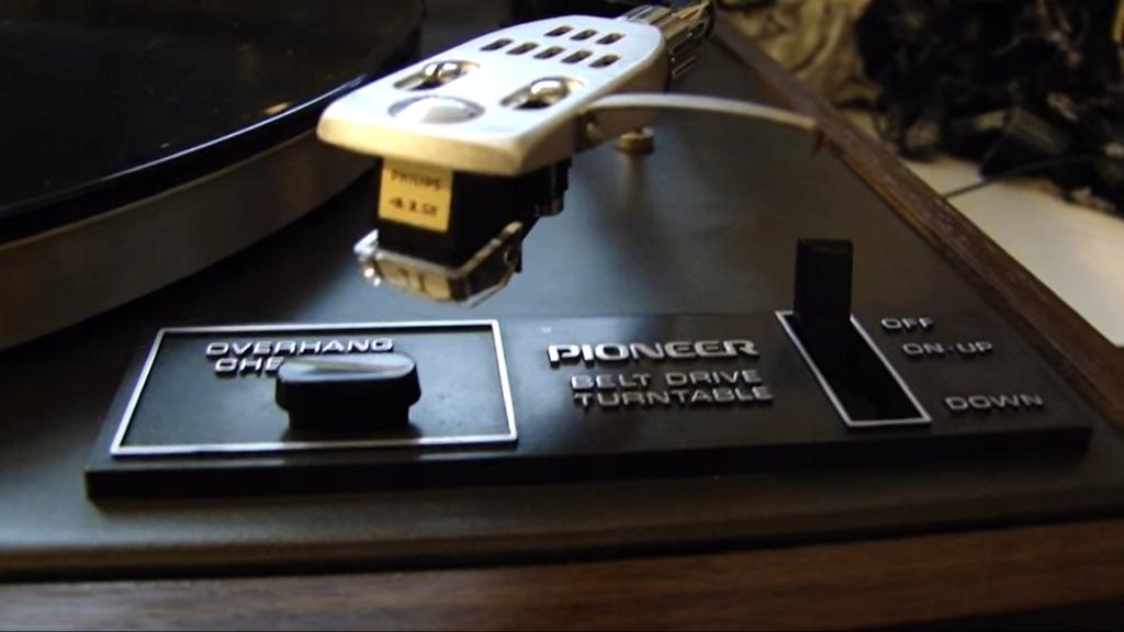 Gramofon Pioneer PL 12D klasyka vintage drewno!