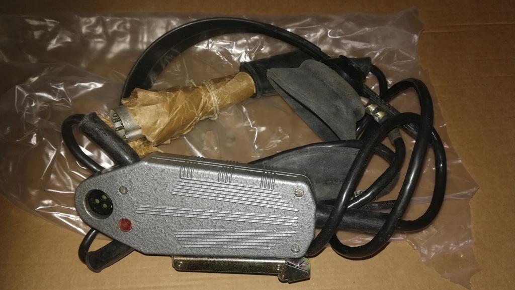 Mikrotelefon nagłowny radiostacja R-105 itp. CCCP