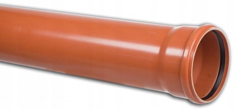 Rura kanalizacyjna zewnętrzna PCV 110 0,5m