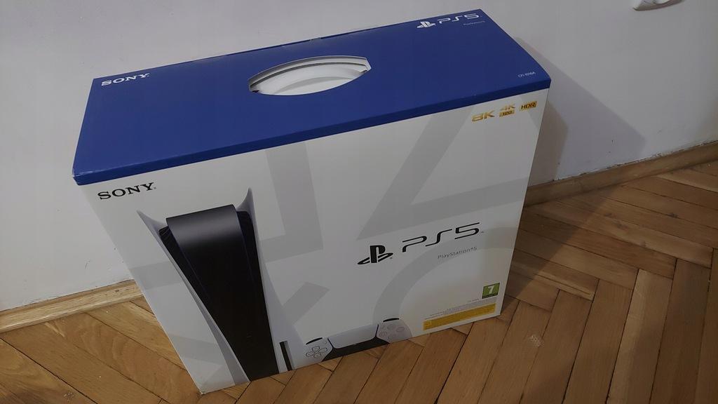 Konsola Sony PlayStation 5 Na płyty