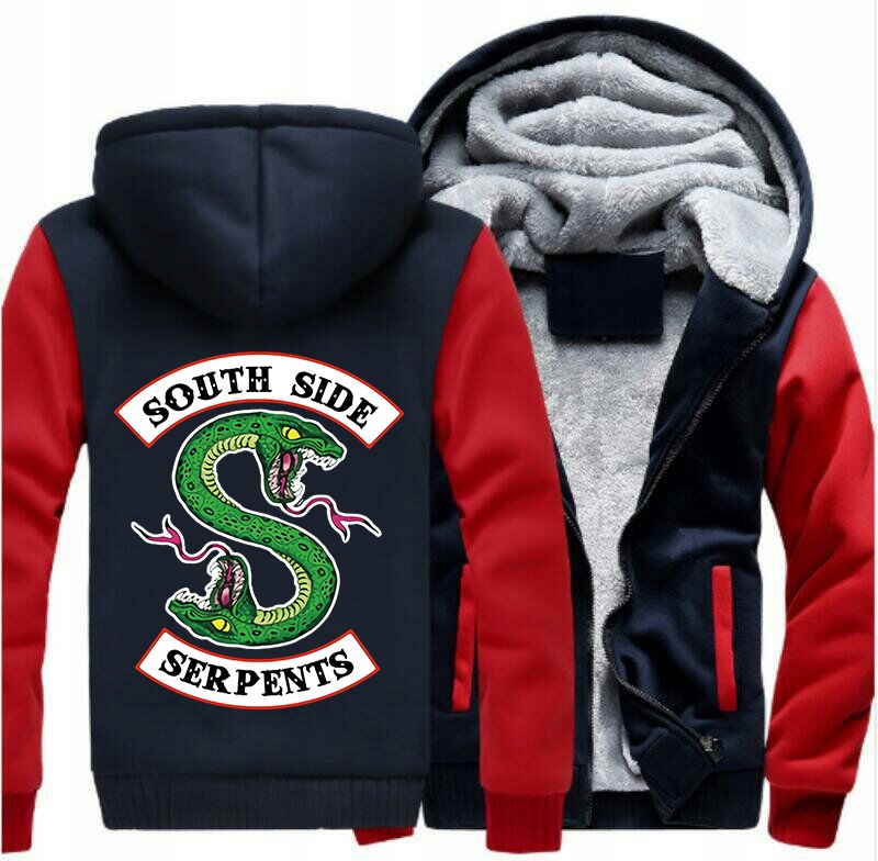 RIVERDALE SOUTH SIDE SERPENTS bluza ROZPINANA XL