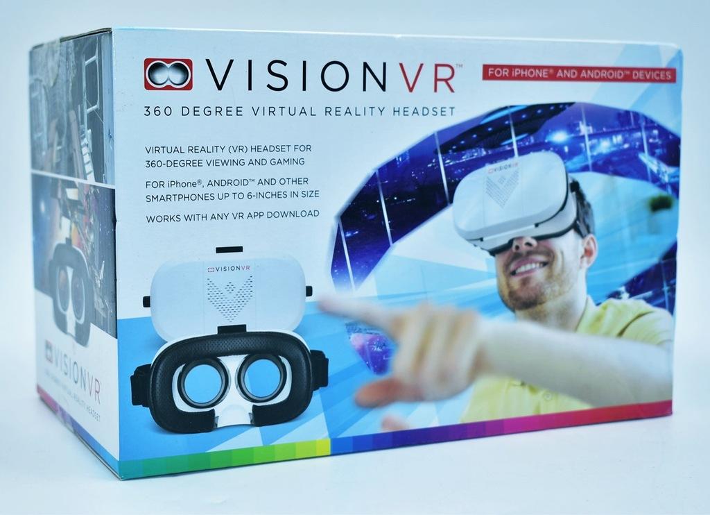 4385-1 VISION VR k#o OKULARY GOGLE VIRTUAL REALITY