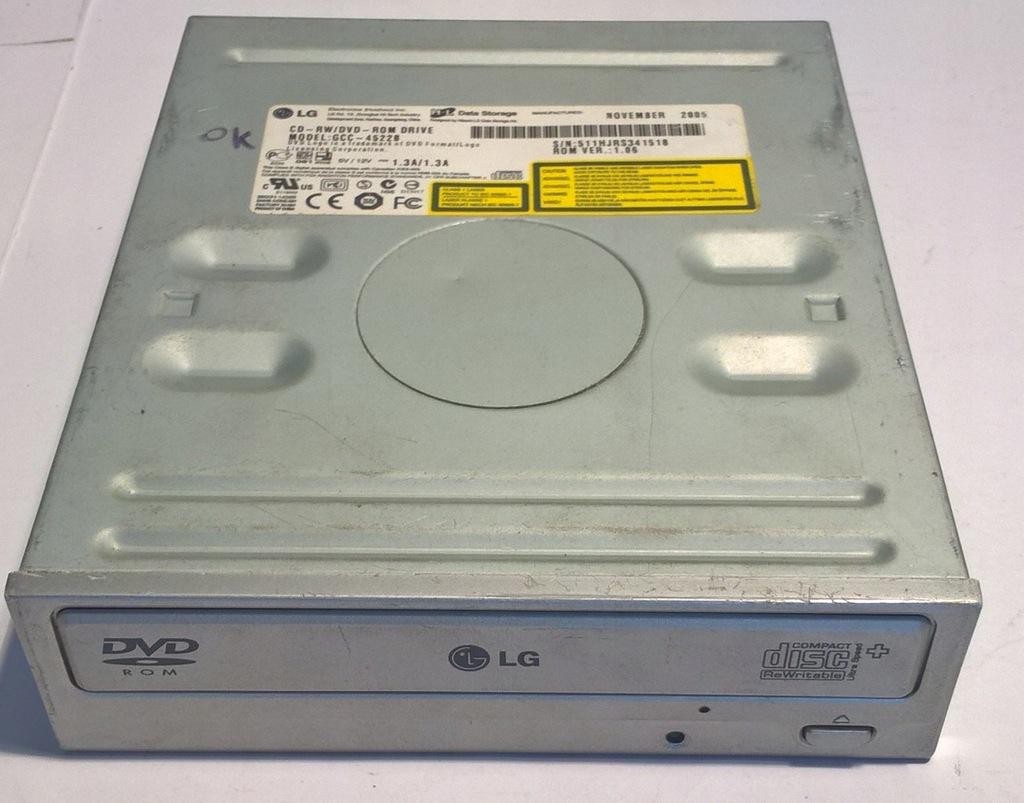 NAPĘD COMBO CD-RW DVD-ROM LG GCC-4522B IDE SREBRNY