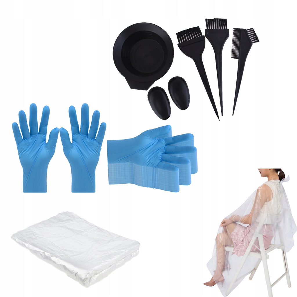 Jednorazowe rękawiczki peleryny