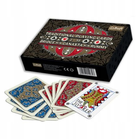 Karty do gry traditional playing cards 2x55 Fabry