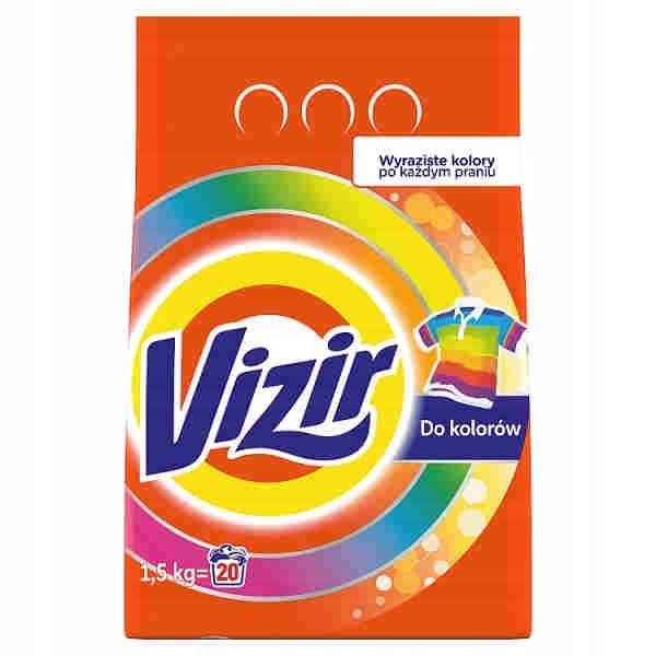 Vizir Color Proszek Do Prania 20 Prań 1,5 kg