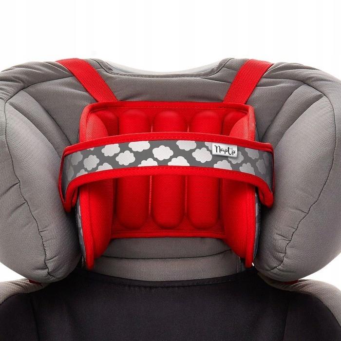 NapUp RED - Opaska podtrzymująca głowę w foteliku