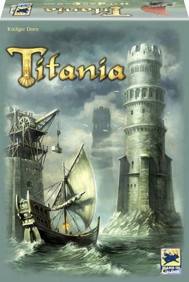 TITANIA Gra STRATEGICZNA Planszowa Odbuduj Wieże
