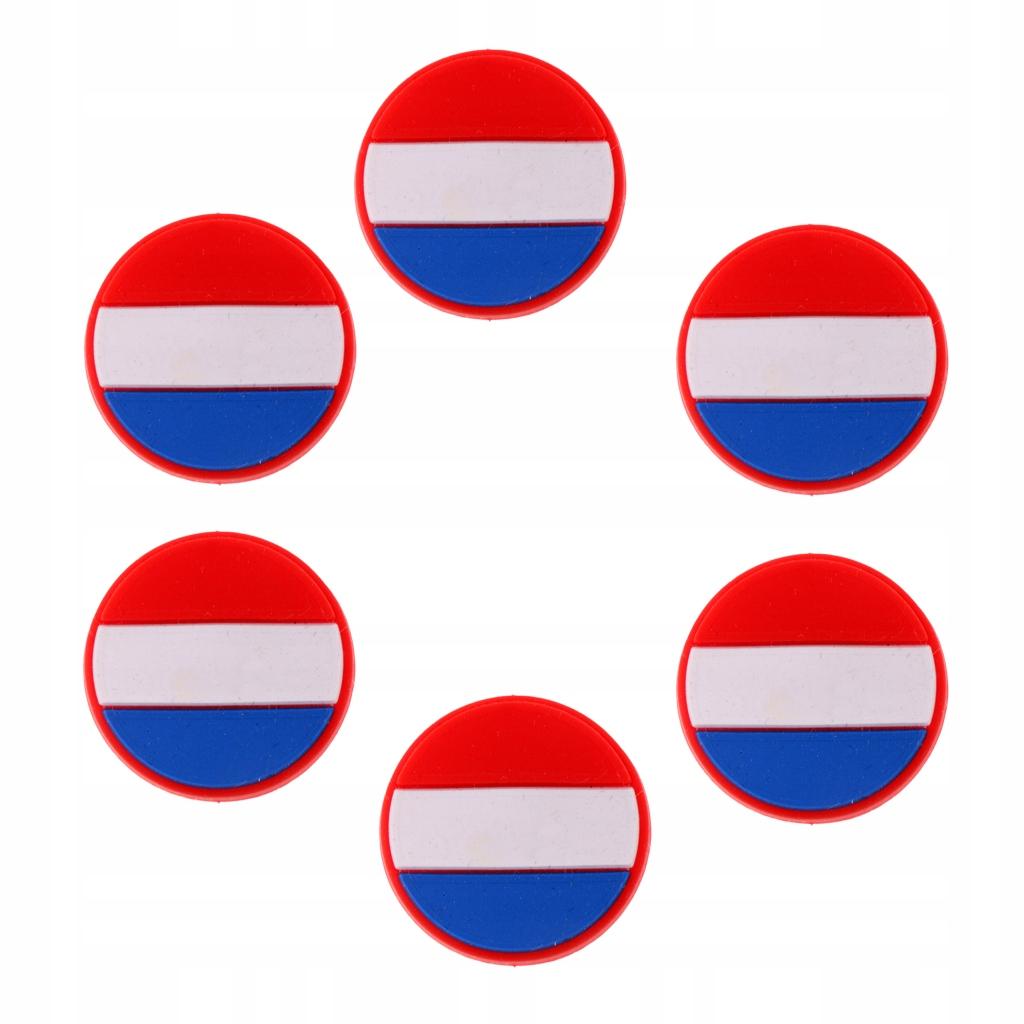 Tłumik drgań tenisowych - 6 Flaga FR