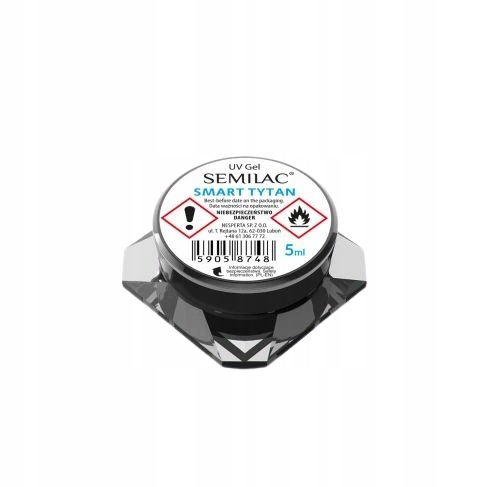 SEMILAC Żel UV LED linia SMART TYTAN 5 ml