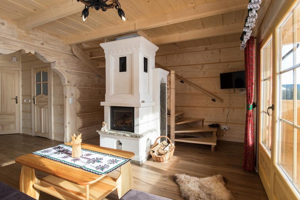 voucher na weekendowy pobyt w góralskim domku
