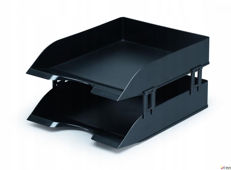 Półka na dokumenty DURABLE BASIC A4 czarna 1701672