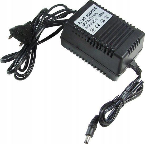 Zasilacz prądu zmiennego AC 24V 1000mA 1A