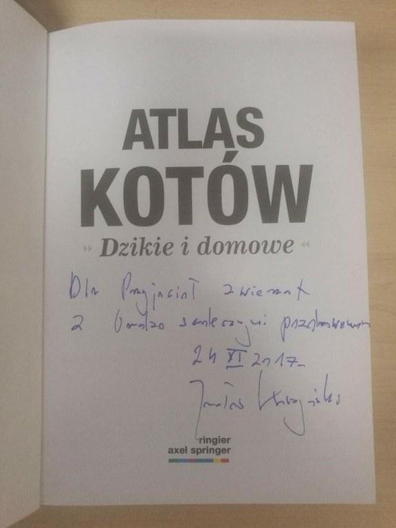 Słynny Atlas kotów Prezesa Jarosława Kaczyńskiego