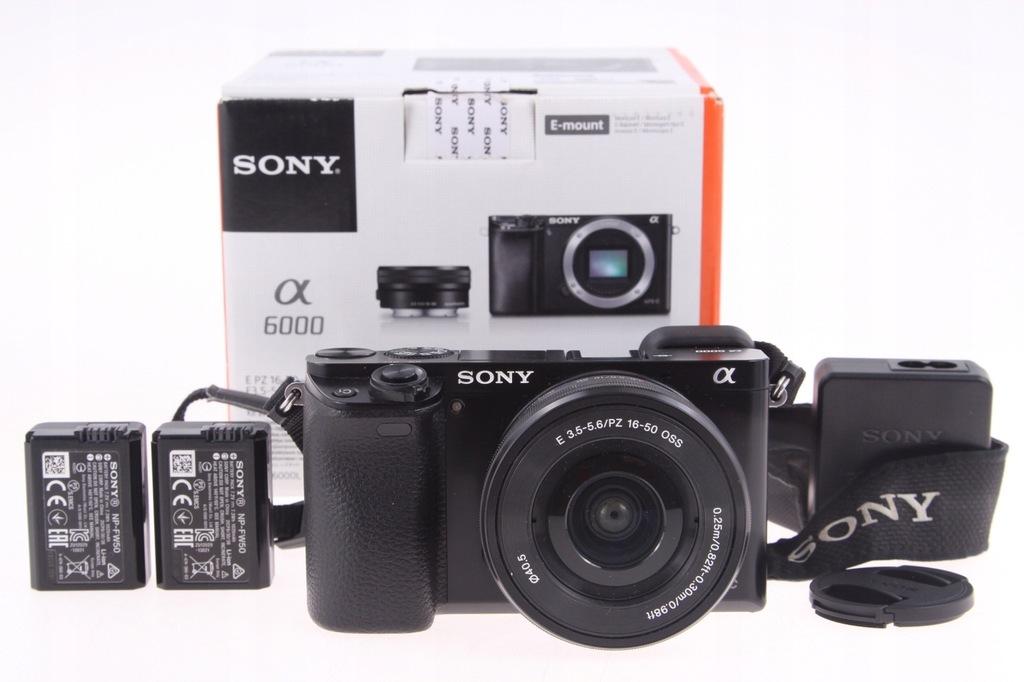 Sony A6000 + 16-50mm OSS ILCE-6000 Czarny