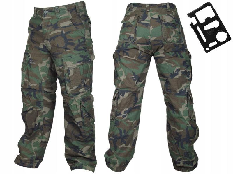 SURPLUS Spodnie Męskie M65 AIRBORNE BOJÓWKI 5XL