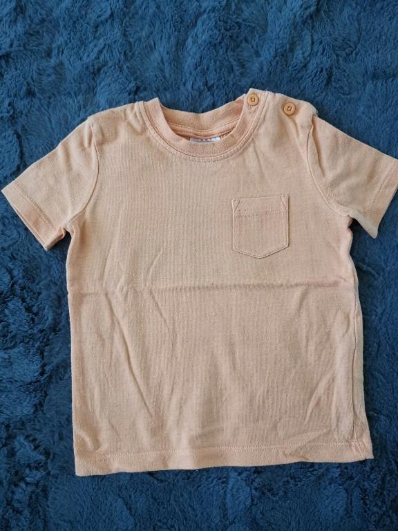 Bluzka z krotkim rękawem rozmiar 80 F&F