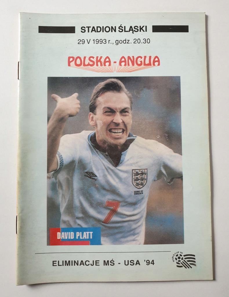 PROGRAM POLSKA - ANGLIA 1993