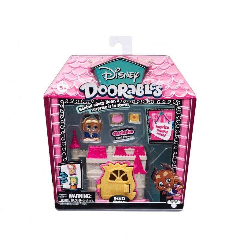 Figurki Doorables Zestaw mini Zamek Bestii