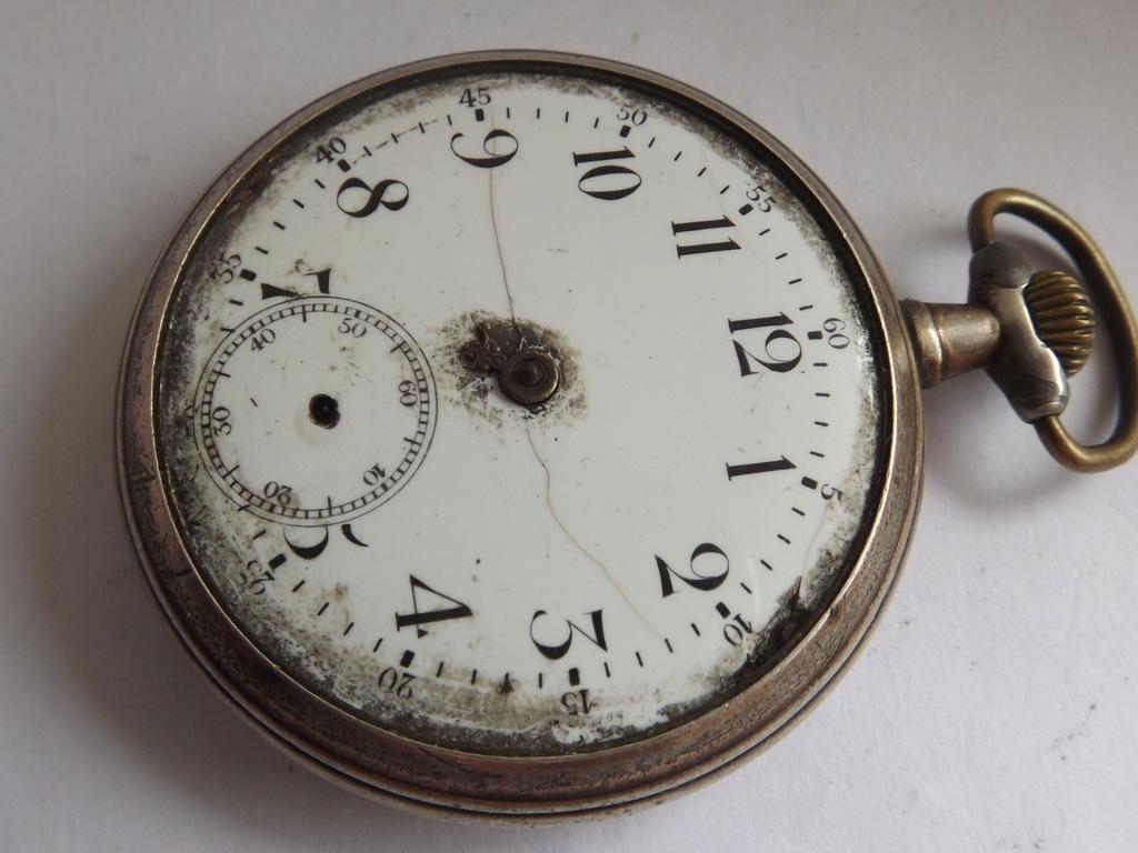 Remontoir Garanti - zegarek kieszonkowy