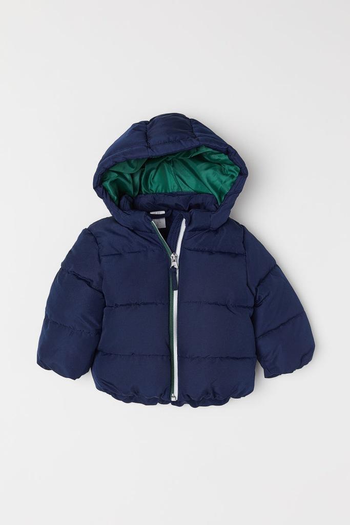 H&M, 80, watowana kurtka