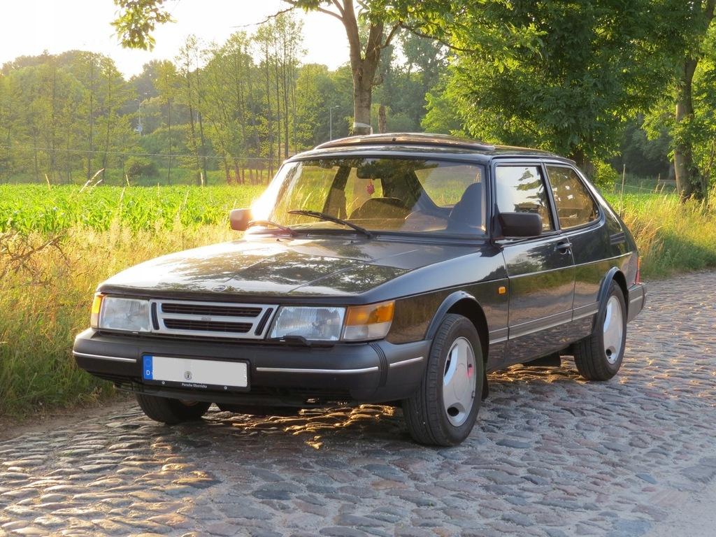 Saab 900i piękny krokodyl z 1990 roku - zamiana