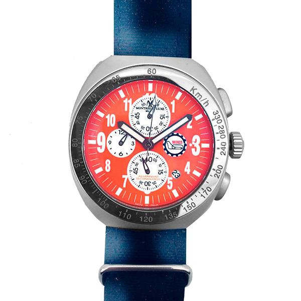 Zegarek Męski Montres de Luxe 09MON-ZIFMLAL (40 mm