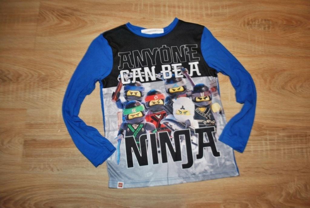 GEORGE LEGO NINJAGO świetna bluzka LEGO 128-134