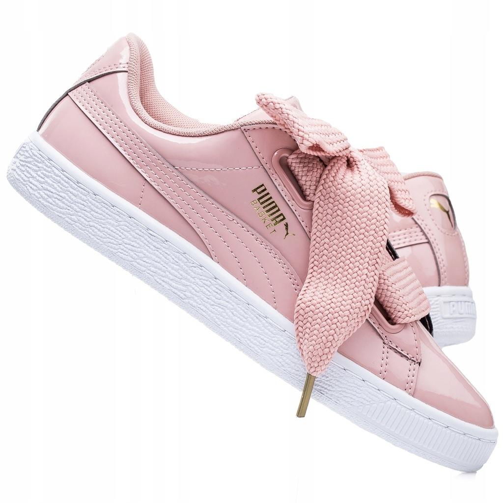 Buty damskie sneakersy Puma Basket Heart Patent 363073 11