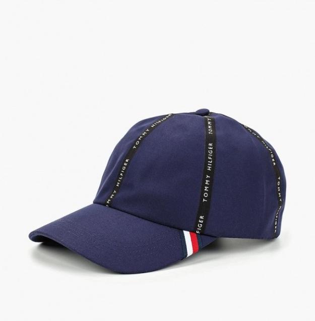 TOMMY HILFIGER czapka z daszkiem TAPE CAP logo