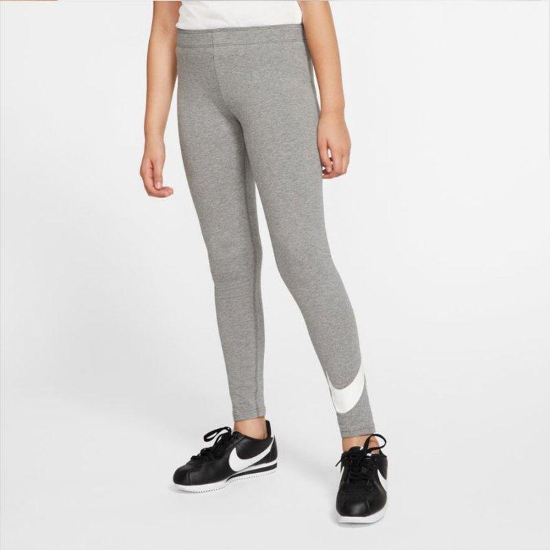 Legginsy Nike G Sportswear AR4076 092 szary L
