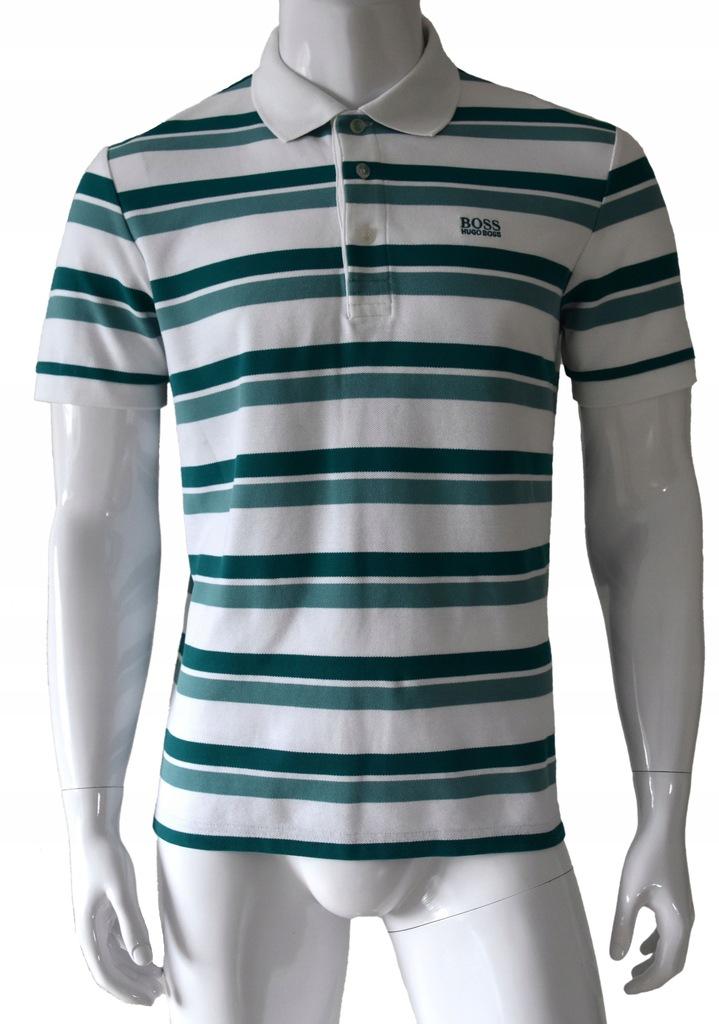 HUGO BOSS koszulka polo męska logo MODERN FIT L
