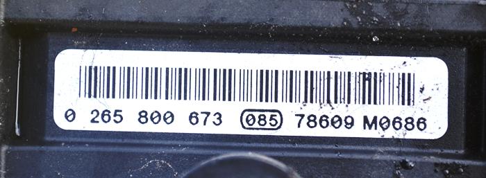 FIAT POMPA ABS 0265800673 085 7809M0686