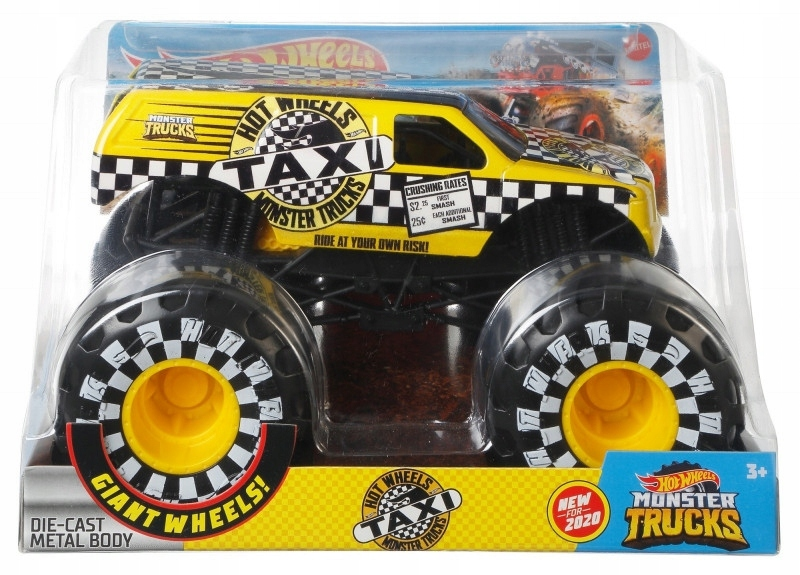 Hot Wheels Pojazd Monster Trucks GJG77