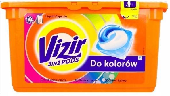 Vizir all in 1 color kapsułki do prania 38 sztuk