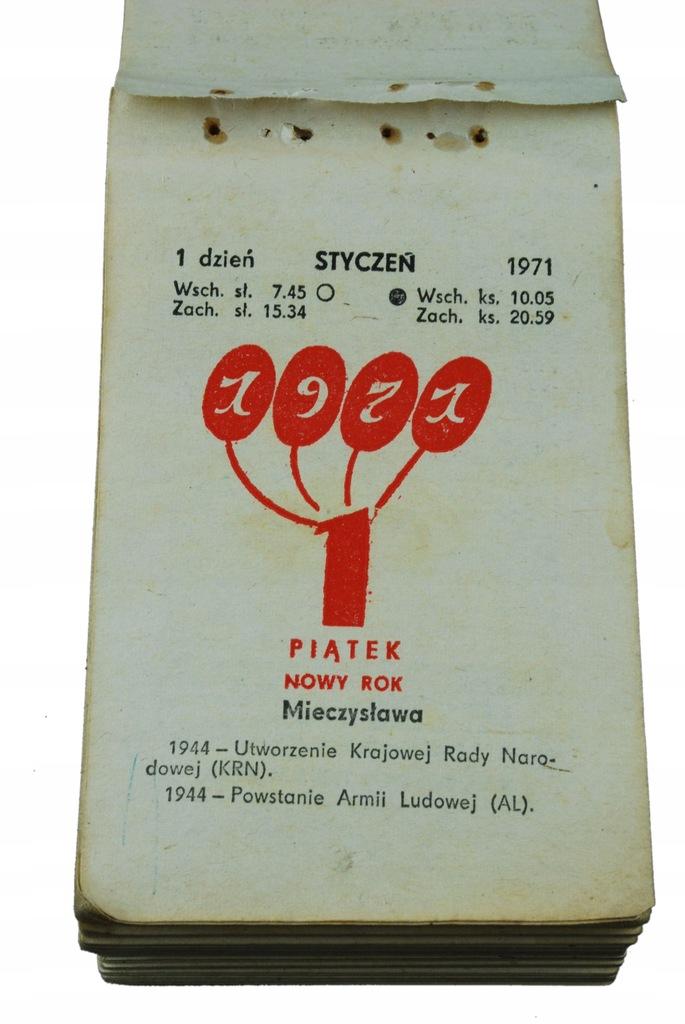 49 urodziny PREZENT kartka kalendarz zdzierak 1971