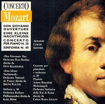 Mozart - Eine Kleine Nachtmusik, Piano #20, #40