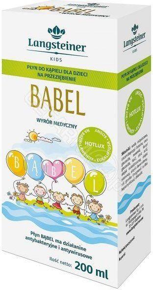 Bąbel płyn do kąpieli na przeziębienie dla dzieci