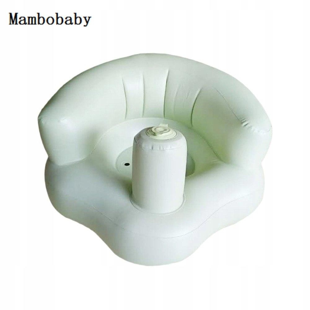Krzesełko dla niemowląt fotelik nadmuchiwany zielo