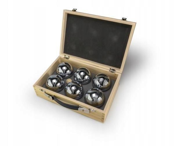 Tactic Gra Petanque w drewnianym pudełku