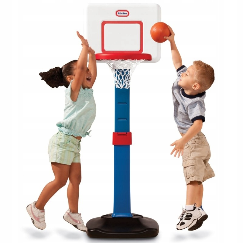 Little tikes Koszykówka składana dla maluchów Kosz