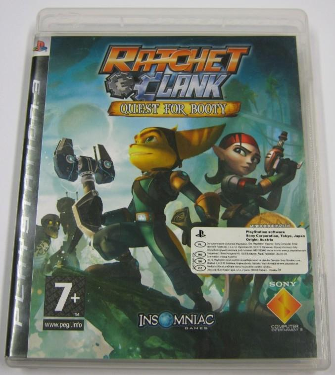 Gra na Playstaton 3: Ratchet Clank Quest for booty