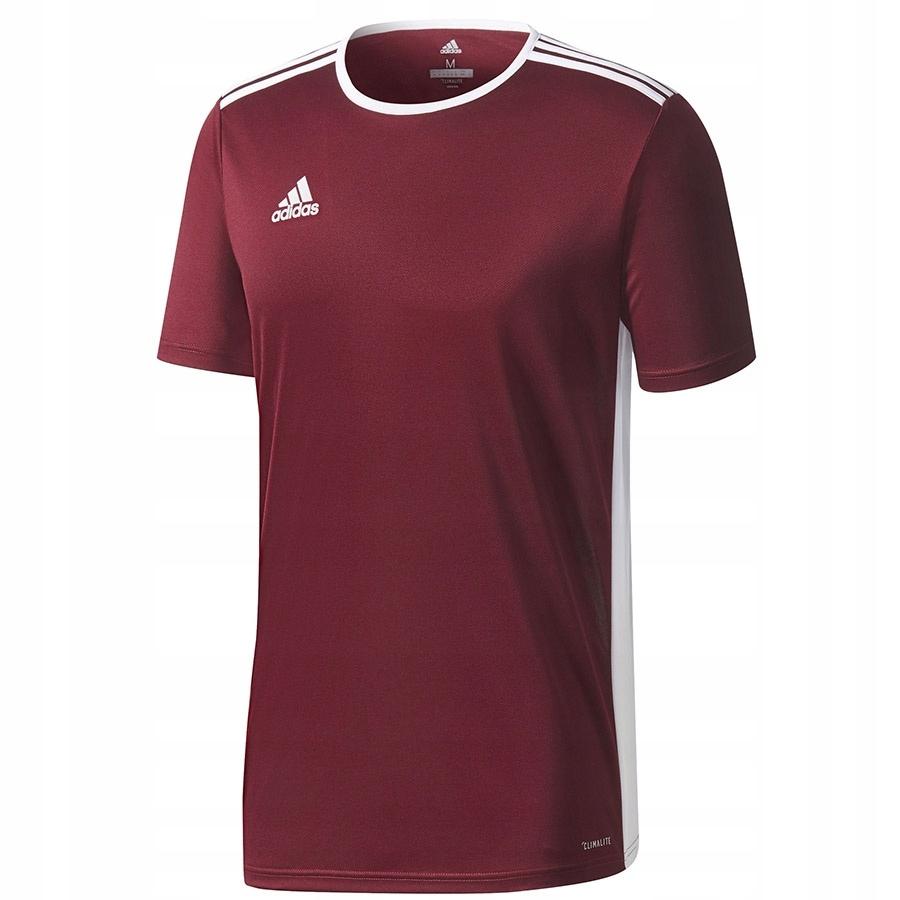 Koszulka adidas Entrada 18 JSY CD8430 czerwony S!