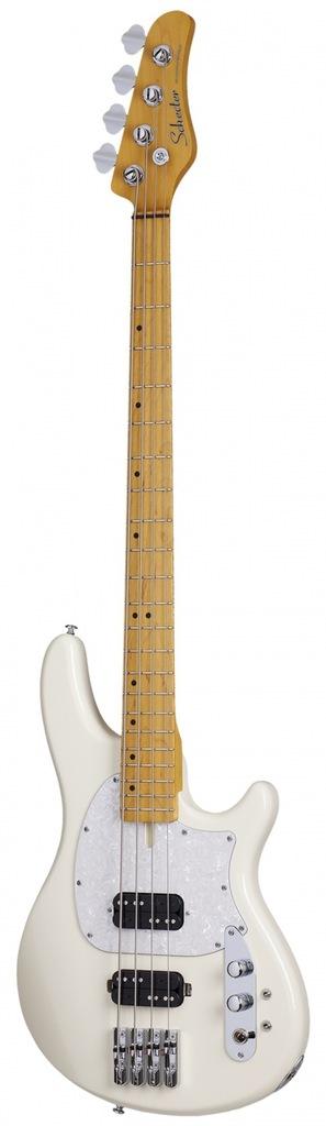 Schecter CV-4 Ivory gitara basowa