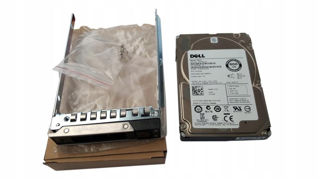"""NOWY DELL 600GB SAS 10k 2,5"""" DELL T440 T640"""