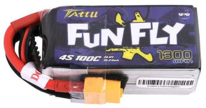 Akumulator Tattu Funfly 1300mAh 14,8V 100C 4S1P Ta